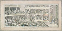Covent Garden Theatre, 1786 by English School