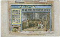 Cow Keeper, 1825 by George the Elder Scharf