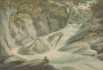 Hafod: Upper Part of the Cascade von John Warwick Smith