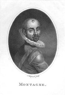 Portrait of Michel de Montaigne by James, the Elder Hopwood