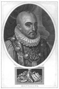 Portrait of Michel de Montaigne by English School