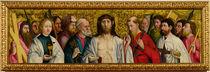 Christ and the Twelve Apostles von German School
