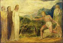 Christ giving sight to Bartimaeus von William Blake