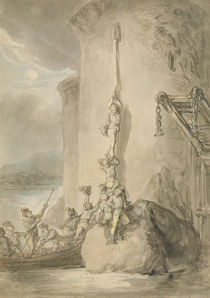 A Military Escapade, c.1794 by Thomas Rowlandson