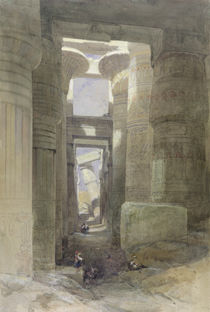 The Great Temple of Amon Karnak by David Roberts