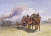 Elephant Battery, 1864 by William 'Crimea' Simpson