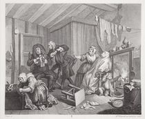 A Harlot's Progress, plate V von William Hogarth