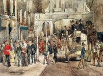 London Street, 1869 von Jean-Baptiste Edouard Detaille