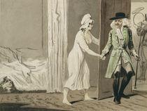 The Cuckold departs for the Hunt von Isaac Cruikshank