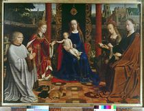 The Virgin and Child with Saints and Donor von Gerard David