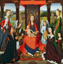 The Virgin and Child with Saints and Donors by Hans Memling