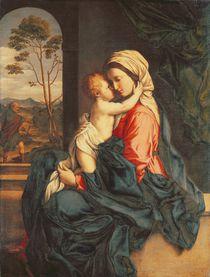 The Virgin and Child Embracing c.1660-85 von Il Sassoferrato