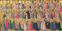 The Forerunners of Christ with Saints and Martyrs von Fra Angelico