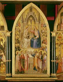 The Coronation of the Virgin von Giusto di Giovanni de' Menabuoi