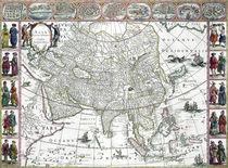Asia noviter delineata, 1617 von Willem Blaeu