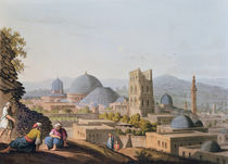City of Jerusalem, 1812 by English School