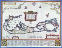 Map of Bermuda by English School