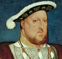 King Henry VIII von Hans Holbein the Younger