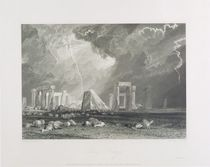 Stone Henge, 1829 by Joseph Mallord William Turner
