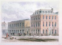 View of Soho Square and Carlisle House von Thomas Hosmer Shepherd