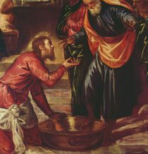 Christ Washing the Feet of the Disciples von Jacopo Robusti Tintoretto