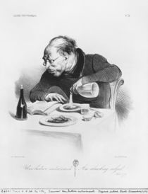 Series 'Galerie physionomique' by Honore Daumier