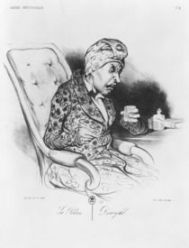 La Potion, Draught, from 'Galerie physionomique' by Honore Daumier