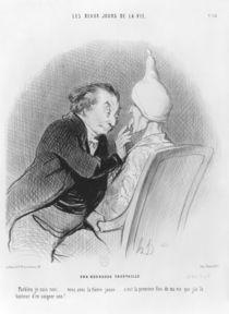 Series 'Les beaux jours de la vie' von Honore Daumier