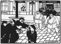 The Anarchist, 1892 von Felix Edouard Vallotton