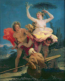 Apollo and Daphne, c.1743-44 by Giovanni Battista Tiepolo