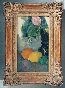 Flowers and fruits, c.1880 by Paul Cezanne
