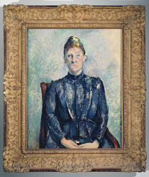 Portrait of Madame Cezanne von Paul Cezanne