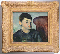 Portrait of the artist's son by Paul Cezanne