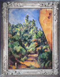 Red rock, c.1895 von Paul Cezanne