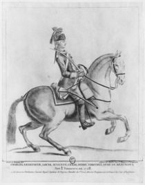 The Chevalier d'Eon as a Dragoon by Robin de Montigny
