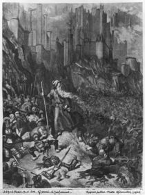 The Wandering Jew, engraved by Felix Jean Gauchard by Gustave Dore