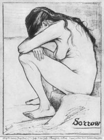 Sorrow, 1882 by Vincent Van Gogh