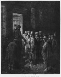 A house of refuge, illustration from 'Londres' by Louis Enault 1876 von Gustave Dore