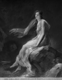 Madame Recamier by Alexandre Evariste Fragonard