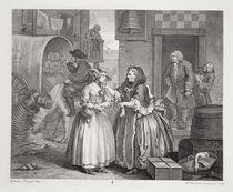 A Harlot's Progress, plate I by William Hogarth