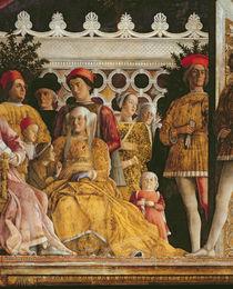 Detail of Barbara of Brandenburg von Andrea Mantegna