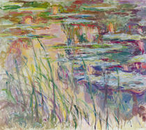 Reflections on the Water, 1917 by Claude Monet