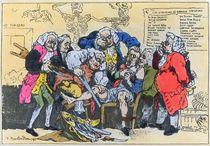 Caricature of Georgian Surgeons at work by Thomas Rowlandson
