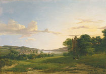 A View of Cessford and the Village of Caverton by Patrick Nasmyth