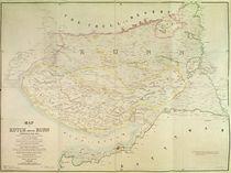 Map of Kutch and Runn, India von English School