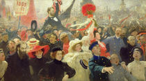 October 17th, 1905 by Ilya Efimovich Repin