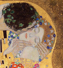 The Kiss, 1907-08 by Gustav Klimt