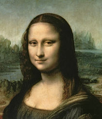 Mona Lisa, c.1503-6 von Leonardo Da Vinci