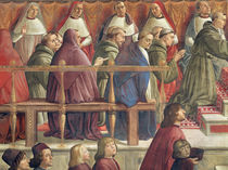 The Approval of the Order by Pope Honorius III by Domenico Ghirlandaio