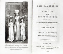Frontispiece to 'Original Stories from Real Life' by Mary Wollstonecraft by William Blake